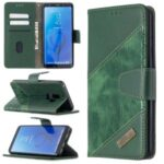 Crocodile Skin Assorted Color Style Leather Wallet Case for Samsung Galaxy S9+/S9 Plus – Green