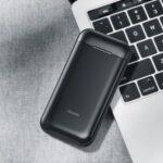 JOYROOM D-QP184 22.5W Flash Charge 10000mAh Multi-Output Power Bank – Black