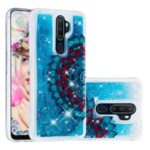 Pattern Printing Glitter Powder Sequins TPU Case for OPPO A5 (2020)/A9 (2020)/A11x – Mandala Flower
