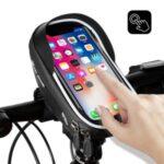 WEST BIKING Bike Bicycle Bag Waterproof Bike Phone Mount Bag Front Frame Top Tube Handlebar Bag with Touch Screen Holder Case for Phones