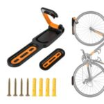 WEST BIKING for Bicycle Mountain Bike Kids Bike Folding Bike Wall Hook – Black/Orange