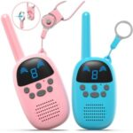 GO100 Smart Wireless Call Long-distance Walkie Talkie Parent-child Interactive Toy – Blue / Pink