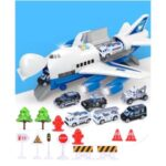 Kids Toy Car Plane Set Alloy Police Engineering Car Model Bus Truck Car Construction Toy – Police Series