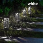 Garden Solar Lamp Garden Decoration Outdoor Lawn Solar Lamp Garden Lights Path Light – White Light