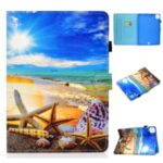 Pattern Printing Leather Card Holder Tablet Shell for iPad Air 4 10.8 inch (2020) – Starfish