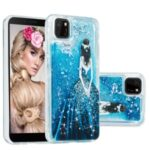 Stylish Pattern Glitter Powder Quicksand TPU Shell Protective Case for Huawei Y5p – Girl