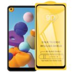 9D Full Covering Tempered Glass Screen Protector for Samsung Galaxy A21