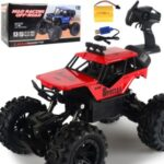Electric Car 1:14 RC Car 2.4G 4WD Remote Control High Speed Off-road Vehicle Toy [58666D] – Red