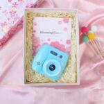 Portable Children 40MP HD Digital Camera Cute Cartoon 2.0-inch Screen Mini Camera Toy – Blue