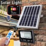 25W Solar Outdoor Light Remote Control Light Control +Timing Function Waterproof Street Lamp