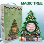 1 Set Christmas Tree Decoration DIY Painting Ball Christmas Magic Tree Painting Ball Kids Xmas Gift – Magic Christmas Tree Set