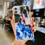 Fun Series Camouflage Geometry PC+TPU Phone Case for iPhone 12 Pro Max – Style A