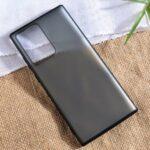 X-LEVEL Matte PC Back + TPU Edge Hybrid Shell for Samsung Galaxy Note20 Ultra/Note20 Ultra 5G – Black