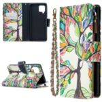BF03 Pattern Printing Zipper Wallet Leather Phone Case for Samsung Galaxy A42 5G – Life Tree