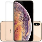 LUANKE 2Pcs/Set Extreme Series Slotted Tempered Glass Screen Protection Film (Full Glue) for iPhone XS Max 6.5 inch
