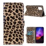 Leopard Pattern Case for OnePlus 8T Stand Leather Shell