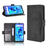 Wallet Stand Flip Leather Cell Phone Case for Umidigi A7 – Black