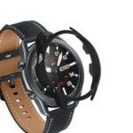 Rubberized Hard PC Bumper Case for Samsung Galaxy Watch3 45mm – Black