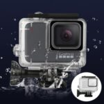Waterproof Diving Protective Frame Case for GoPro Hero 7 Silver/White Sports Camera