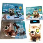 Intelligent Voice Control Assembled Toy Building Toy Multifunctional Electronic Dog Shaped Toy – BG1530/Brown