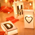 2m 20-LED Light String Box Letter Banner for Home Christmas Party Decor – White